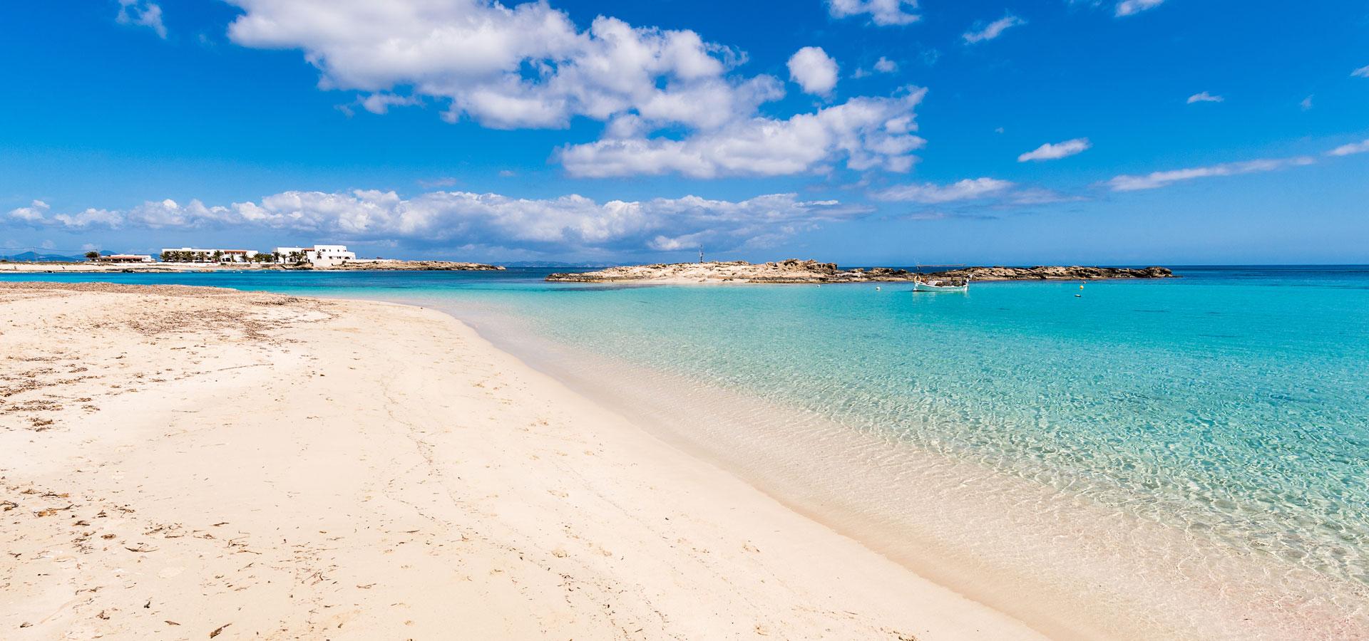 Spiaggia Es Pujols - affitto formentera