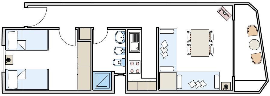 Appartamento copacabana b affitto formentera - Formentera maggio bagno ...