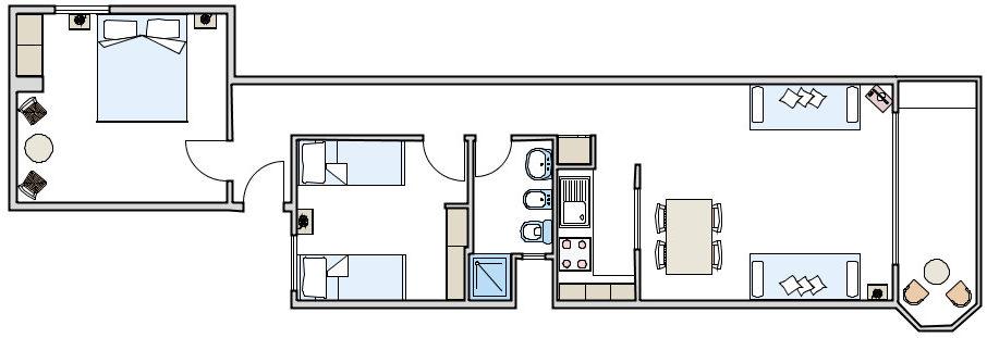 Appartamento espardell lungomare affitto formentera - Formentera maggio bagno ...