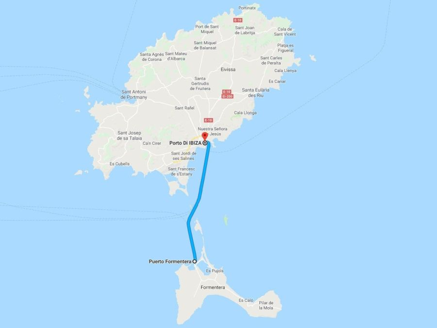 how to get to formentera
