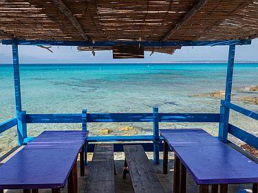 kiosko bartolo playa de migjorn