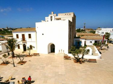 church of sant francesc in Formentera