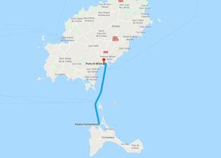 Cartina Geografica Spagna E Formentera.Isola Di Formentera Cartina Formentera Dove Si Trova Formentera