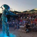 alien show blue bar